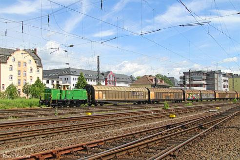 360 573 mit DGZ 75797 Limburg(Lahn) - Koblenz Mosel, 29.06.2016