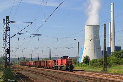294 744 mit EK 55974 Völklingen - Dillingen(Saar), Ensdorf 10.06.2016