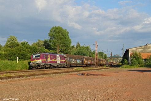 BB37027 mit DGS 69472 Neunkirchen(Saar) Hbf - Brake/Unterwesser, Bous 19.06.2016
