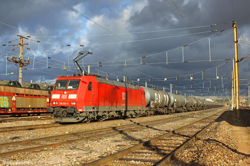 185 032 mit GC 44420 Großkorbetha - Forbach/F (Djon) (Sdl. Diesel), 10.04.2017