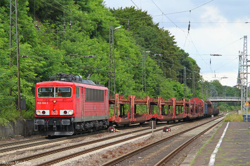 155 128 mit EZ 51916 Mannheim Rbf Gr.G - Saarbrücken Rbf Nord, Jägersfreude 26.07.2016