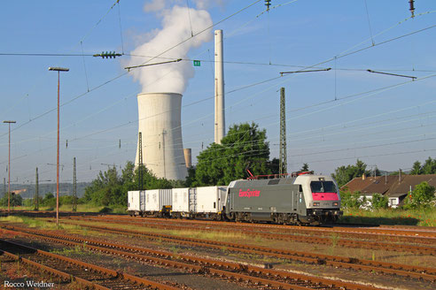 127 001 mit DbZ 84063 Luisenthal(Saar) - Klinkum (Sdl.), Ensdorf 10.06.2016