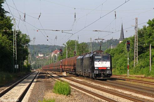 DT 189 451 + 189 803 mit DGS 91116 Duisburg-Ruhrort Hafen - Neunkirchen(Saar) Hbf , Dudweiler 20.06.2016