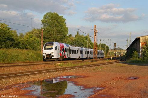 429 115 als RE 4135 Mannheim Hbf - Koblenz Hbf, Bous 19.06.2016