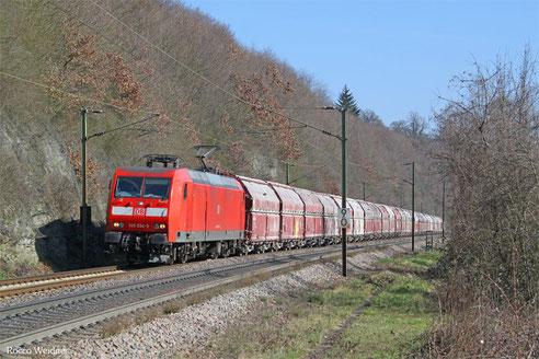 145 034 mit GM 60439 Auersmacher - Dillingen Zentralkokerei, Völklingen Heidstock 27.02.2016
