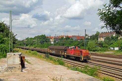 294 823 mit EK 55975 Völklingen Walzwerk - Saarbrücken Rbf Nord, SB-Burbach 26.07.2016