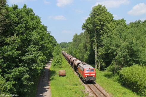 225 073 mit EK 55909 Rammelsbach Steinbruch - Einsiedlerhof, Landstuhl 09.06.2015