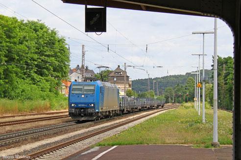 185 520 mit DGS 44388 Děčín-Prostřední Žleb - Saarbrücken RBf Nord (Sdl.), Dudweiler 29.07.2016