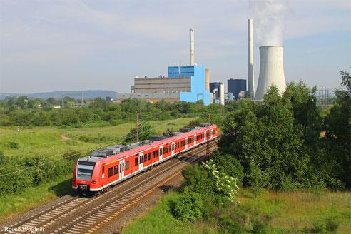 425 113 als RB 78909 Dillingen(Saar) - Homburg(Saar) Hbf