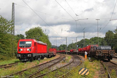 187 113 mit GM 60... Neunkirchen(Saar) Hbf - Völklingen, 09.08.2017