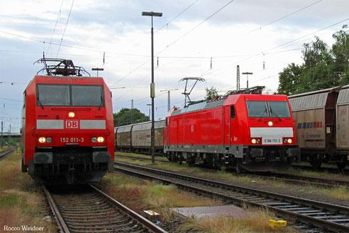 152 011 und 186 172 in Einsiedlerhof, 14.06.2016