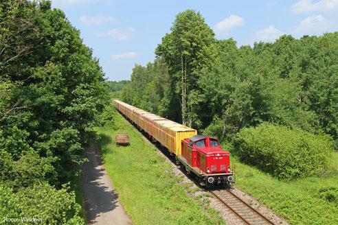 """212 209 mit """"Rettenmeier"""" , Landstuhl 09.06.2016"""