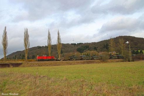 294 651 mit M 62580 Baumholder - Trauen (Sdl. Militärgut), Hoppstädten-Weiersbach 08.01.2014