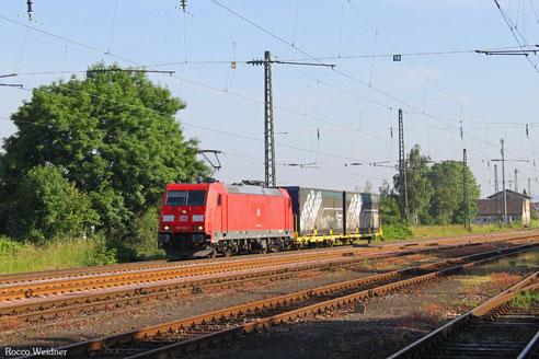 185 300 mit GA 62415 Dillingen(Saar) - Saarbrücken Rbf Nord (Sdl.), Ensdorf 10.06.2016