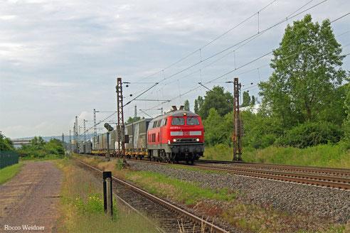 225 073 mit EK 55957 Dillingen(Saar) - Saarbrücken Rbf Nord, Ensdorf 28.06.2016