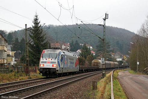 101 144 mit EK 55986 St.Ingbert - Saarbrücken Rbf Nord, Scheidt(Saar) 15.01.2014