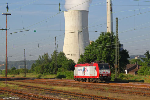 4008 als Tfzf(D) 48580 Saarbrücken Rbf Nord - Bettembourg-Marchandises/L, Ensdorf 10.06.2016