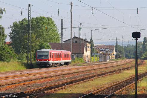 628 466 als RB Dillingen(Saar) - Saarbrücken Hbf, Ensdorf 10.06.2016
