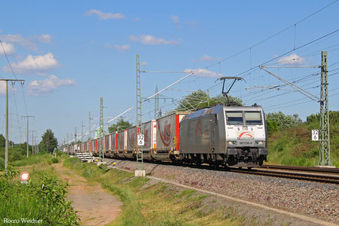185 538 mit DGS 41564 München-Laim Rbf - Bettembourg/L, Kindsbach 23.06.2016