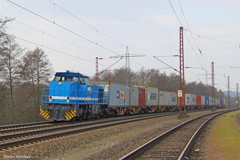 DGS 95261 Dillingen-Katzenschwänz - Homburg(Saar), Vöklingen-Walzwerk 29.02.2016
