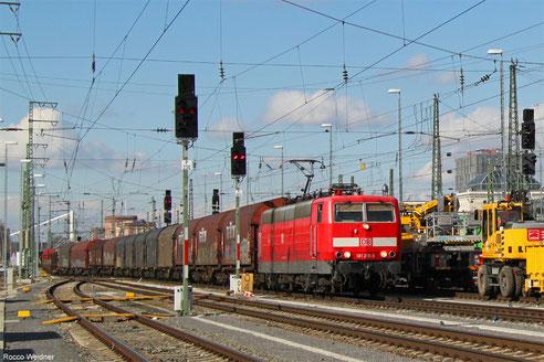 181 215 mit EZ 51927 Dillingen(Saar) - Mannheim Rbf Gr.M, Mannheim 25.02.2016