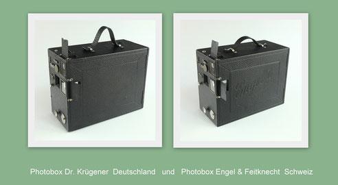 Photobox Dr. Krügener & Engel II Engel Feitknecht (Handkamera)  1897  © engel-art.ch
