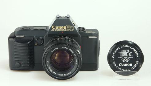 CANON T70  1984   ©  engel-art.ch