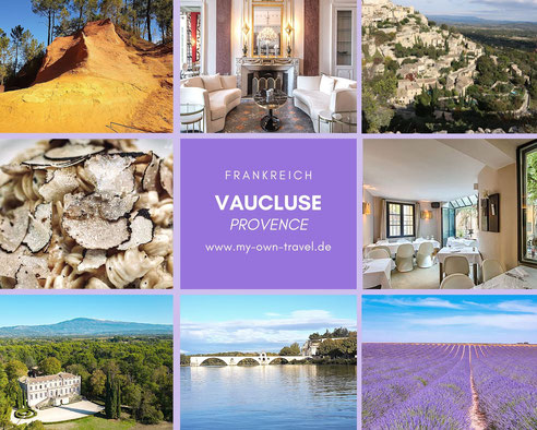 Vaucluse Frankreich Provence