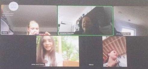 Auszug aus Video-Gruppenstunde am 23.05.2020