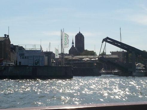 Öffnungszeit Querkanalbrücke und Langenbrücke Stralsund