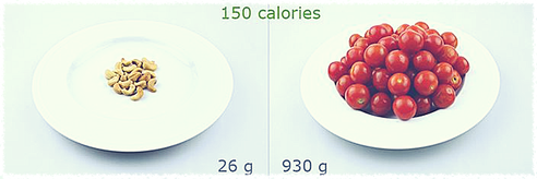 handling weight loss by calorie density