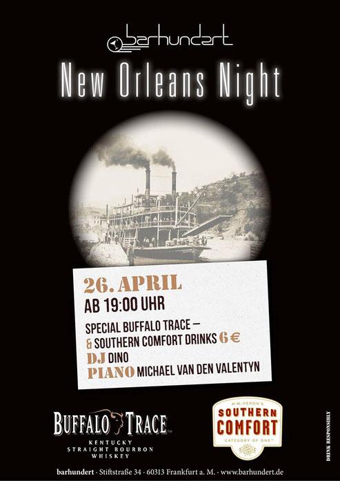 Ner Orleans Night mit dj-dino  @ barhundert frankfurt