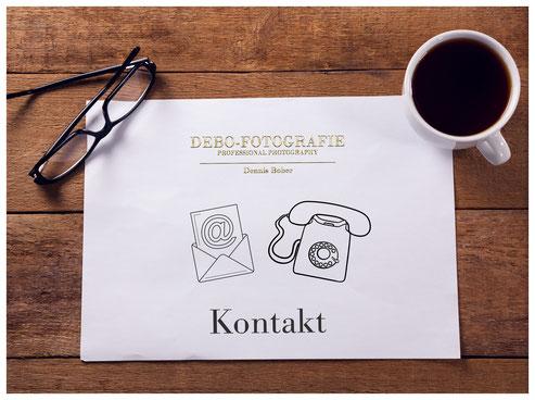 Hier Kontakt aufnehmen mit dem Fotograf in Lübeck, Dennis Bober von Debo-Fotografie.