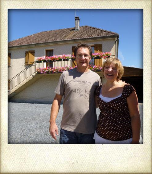 Chambre d'hôtes Brive-Au P'tit Bonheur Gaillard-propriétaires