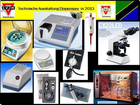 Geräte für die Dispensary 2013