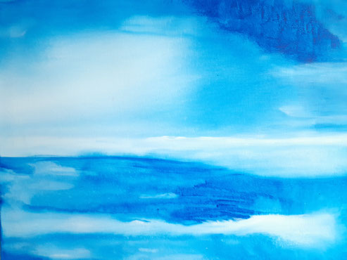2020 C 113 | Expanse- Acrylic on Canvas July 2020 20 x 16 inches | Sold