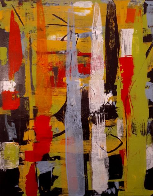 "2020 C101  Atone - Acrylic on Canvas January 2020 - 20"" H x 16"" W  |  AVAILABLE"