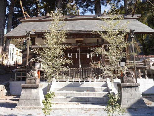 奥氷川神社(奥多摩町氷川)