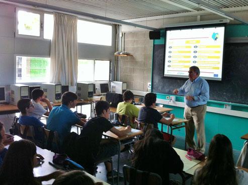 xerrada emprenedoria alumnes de 3r d'eso octubre 2014
