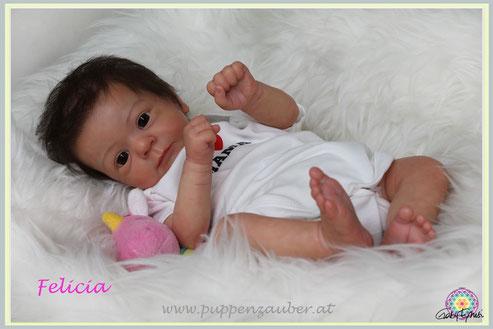 Felicia, Gudrun Legler, Rebornartist, Rebornbaby, Puppenzauber, Austria , Österreich, Rebornerin Österreich