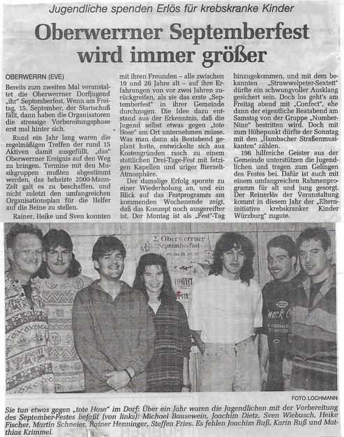 13.09.1995 Schweinfurter Tagblatt