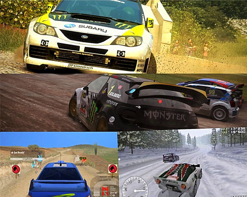 Diverse Rally Spiele