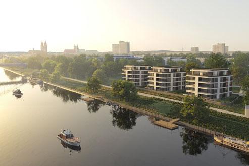 ElbArkaden Magdeburg 2018 Herr & Schnell Architekten Hamburg