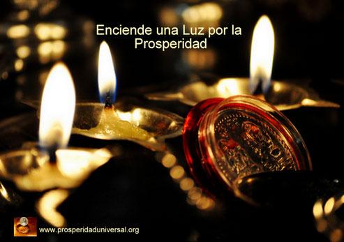 ENCIENDE UNA LUZ POR LA PROSPERIDAD - ORACIÓN-PODEROSA-DE-PROSPERIDAD-PROSPERIDADUNIVERSAL-www.prosperidaduniversal.org
