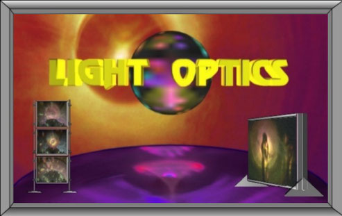 Light Optics Light Art Lichtkunst by Wolfgang F. Lightmaster