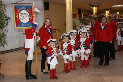 Kindercorps der Beueler Stadtsoldaten