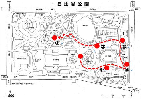 日比谷大江戸まつり, HIBIYA OEDO MATSURI 2019, 日比谷公園,江戸の遺構と江戸園芸フリーガイドツアー