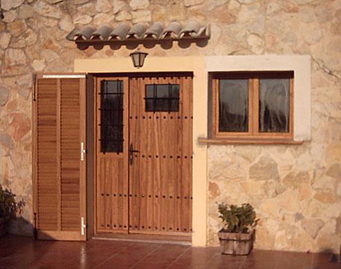 CreaTeam: ventana y puerta con persiana
