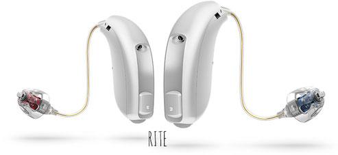 Audífonos RITE de Oticon
