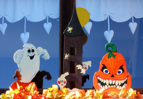 Déco de fenêtre Halloween